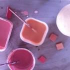 Getting ready to glaze
