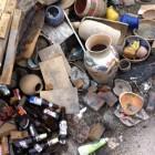 Cross section of an artists studio